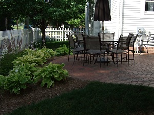 City home dining patio
