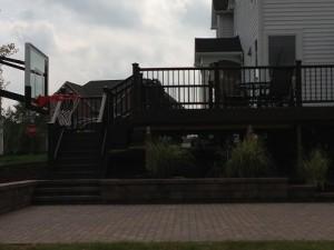 Deck Extension - After