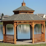 Gazebo on Pond