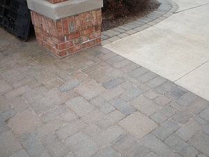 Paver Driveway and border
