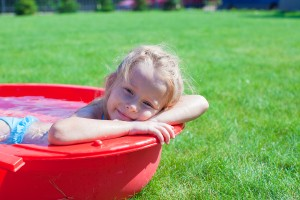 Let this be the only water pooling in your yard.