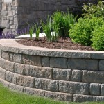 Garden Bed Retaining Wall