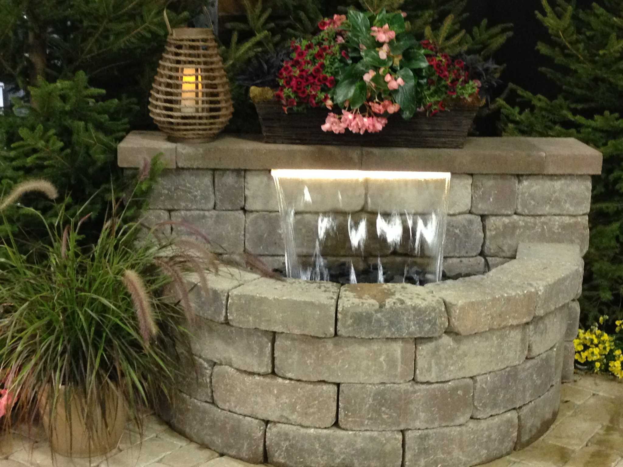 Self Contained Waterfall System. Water Features ...