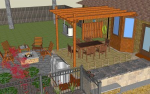 Create an Outdoor Living Space with Twin Oaks Landscape
