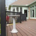 Deck Refacing with New Railing
