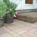 Paver step detail