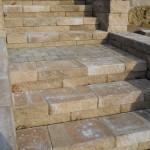 Paver detail of steps