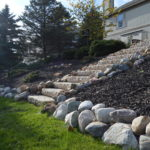 Boulders with Stairs