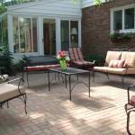 Fendt patio for outdoor entertainment