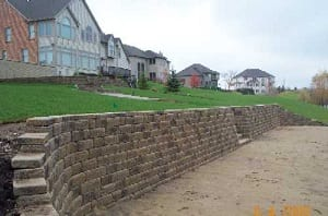 Retaining Wall For Beach Area