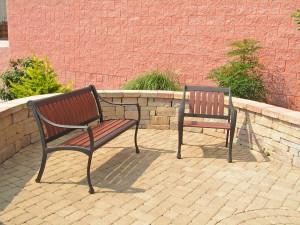 Hardscape patio