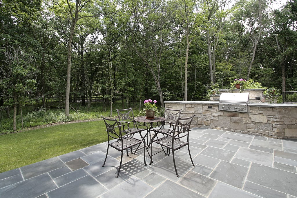 is natural stone the most durable hardscape material