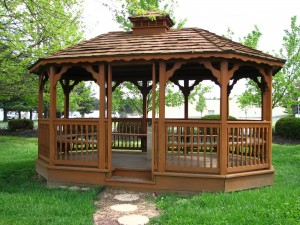 It's just a gazebo, eric