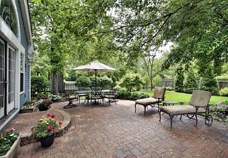 Garden With Paver Patio