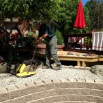 Tamping Process for Pavers