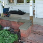 Before: Cement Porch