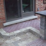 Paver Steps Installed