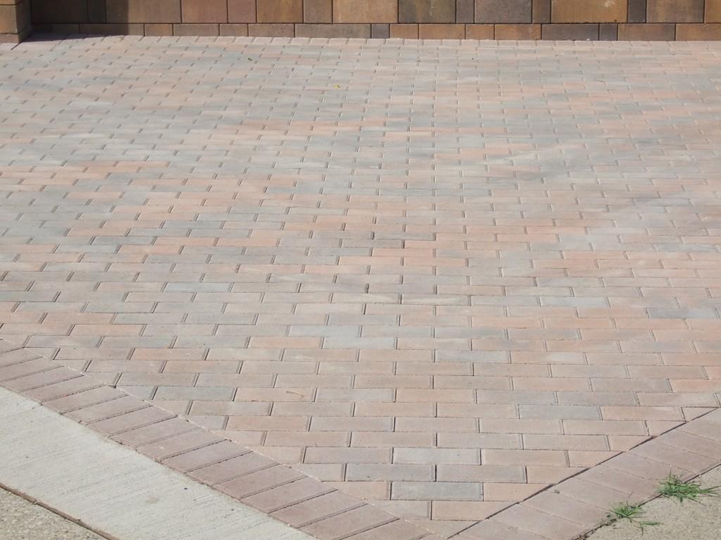 Brick Paver Patio