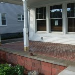 Final Porch Pavers