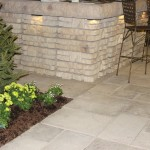 Rosetta Retaining Wall Block with Lighting