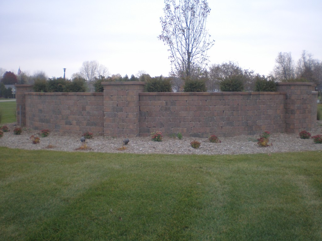 Final Wall Build