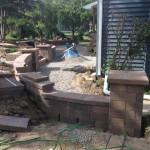 Build of paver column
