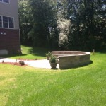 Side View of Firepit Area