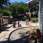 Build of paver patio