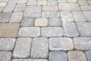 Backyard Concrete Pavers Patio