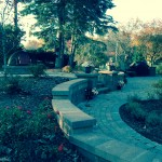 Tiered Paver Wall