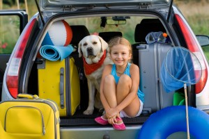 Vacation, Travel - family ready for the travel for summer vacati