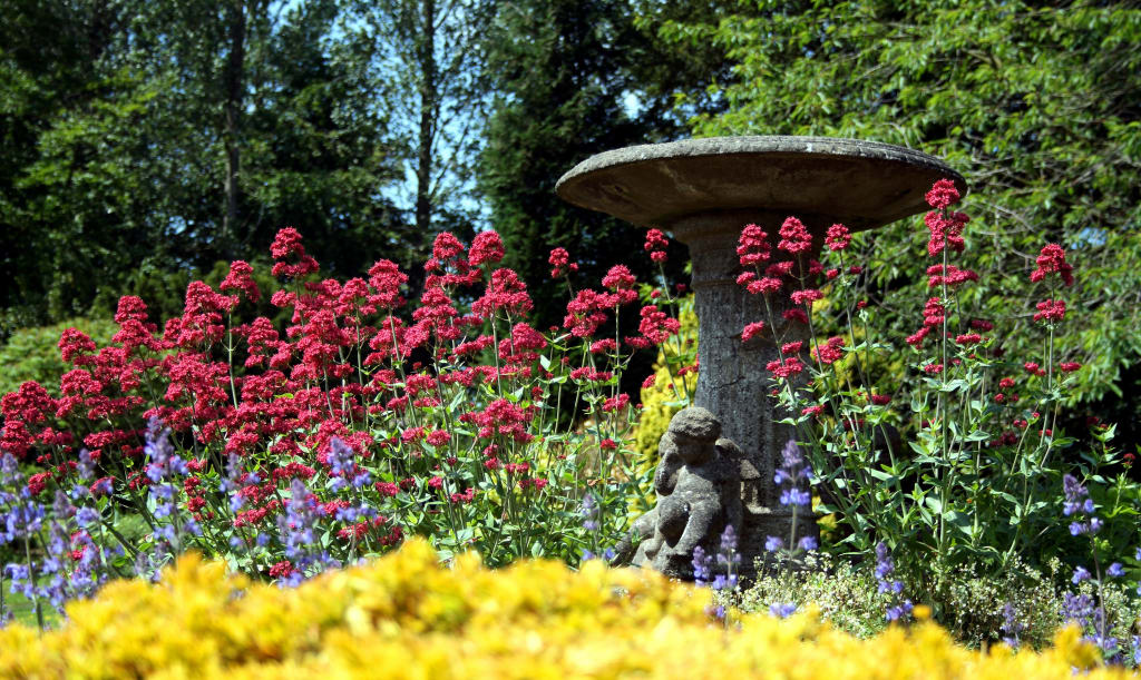 choosing a low-maintenance garden fountain for your landscape