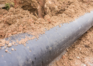Installing Tap Water Pipeline