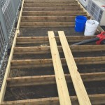 Preparing Deck Frame
