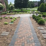 Walkway with Edging