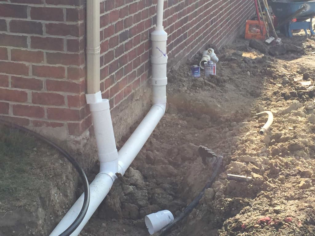 Drainage solutions gallery for Residential trench drain