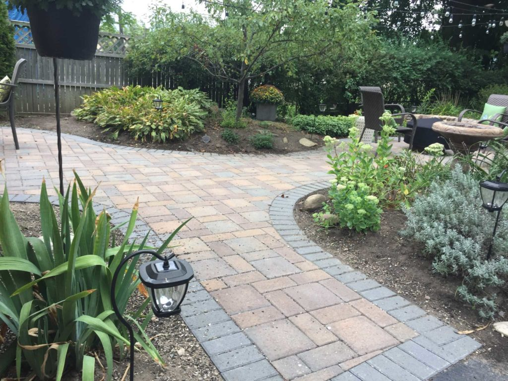 Backyard Paver Access
