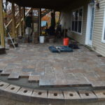 Paver System Progress 6