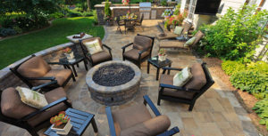 Outdoor Living Space Hardscape