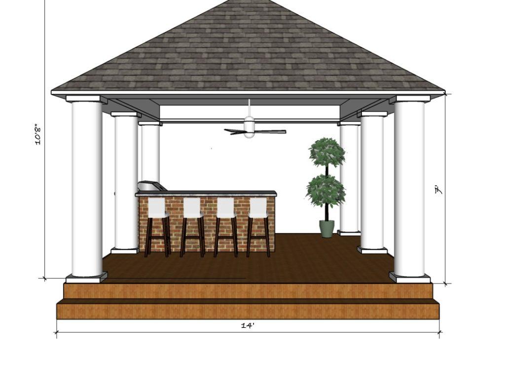 Design For Outdoor Kitchen