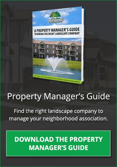 Download the Property Mangers Guide to hiring the right landscape company.