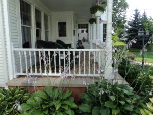 Twin Oaks Landscape Porch Project