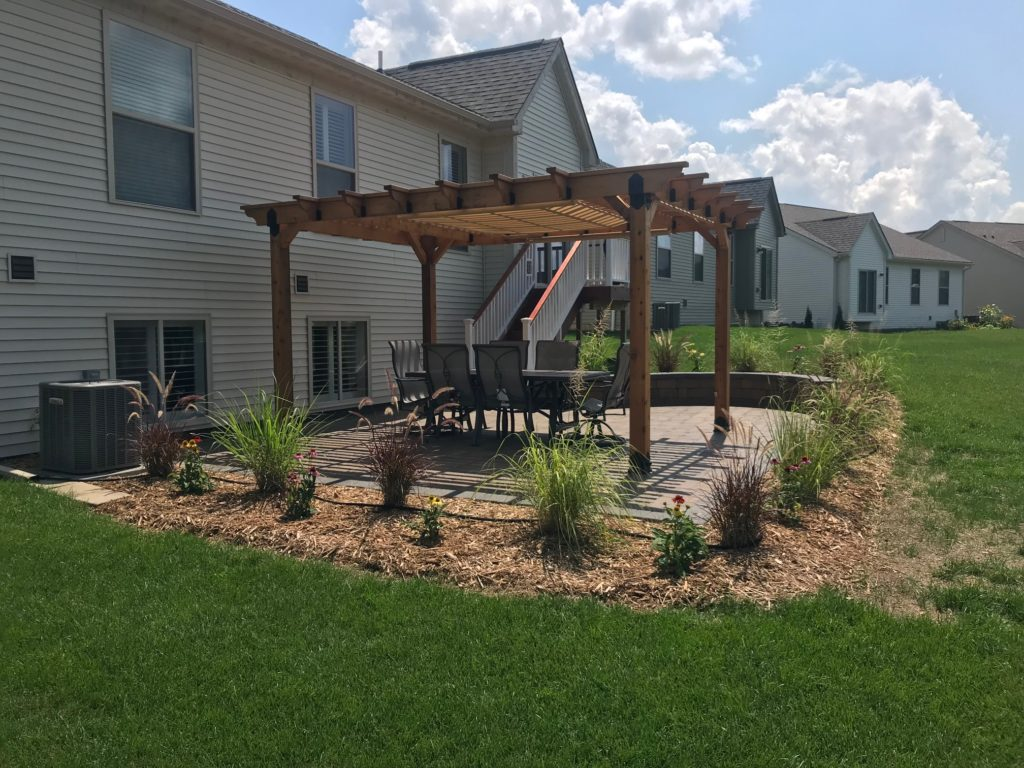 Pergola Over Paver Patio