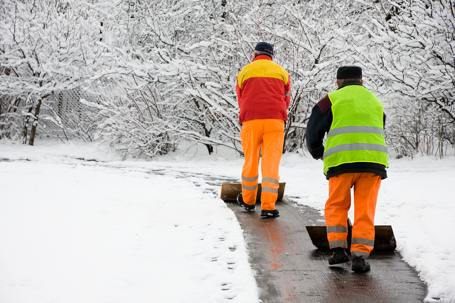 HOA benefits include snow removal services.